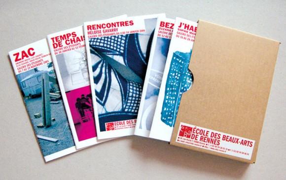 Graphiste catalogue exposition Rennes