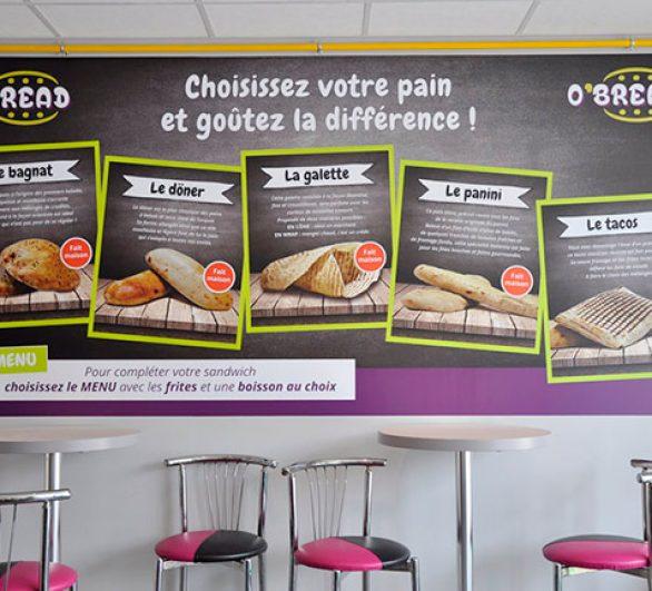 graphiste communication fast food rennes